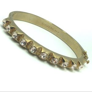 Givenchy Bracelet Swarovski Crystal Goldtone